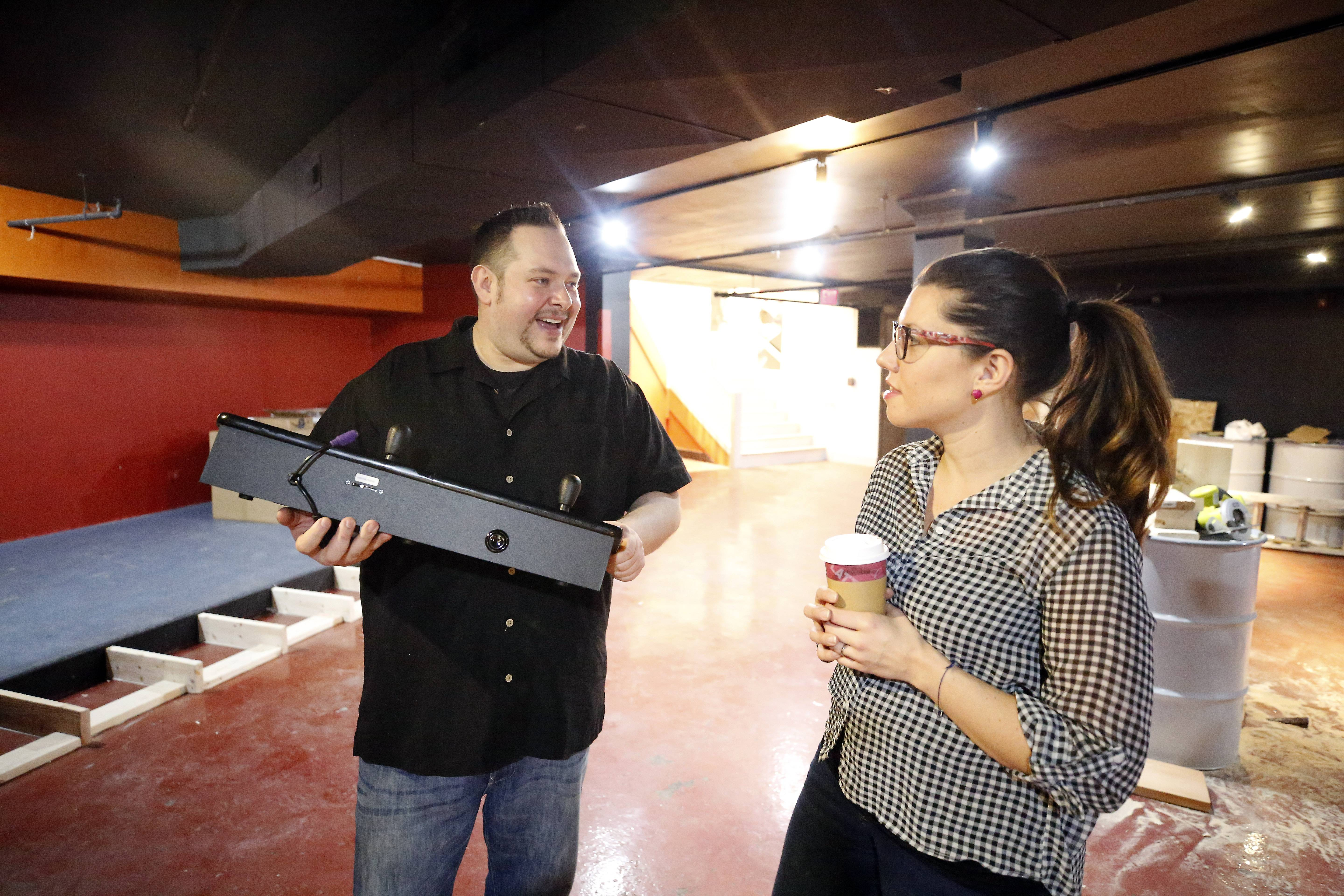 Matthew Habib and his wife, Jennifer Polit, plan to open Legit Dogs & Ice -- the Bomb Shelter in the basement of Dream Hall at 51 Grove Ave. with a menu that will mirror their food truck's.