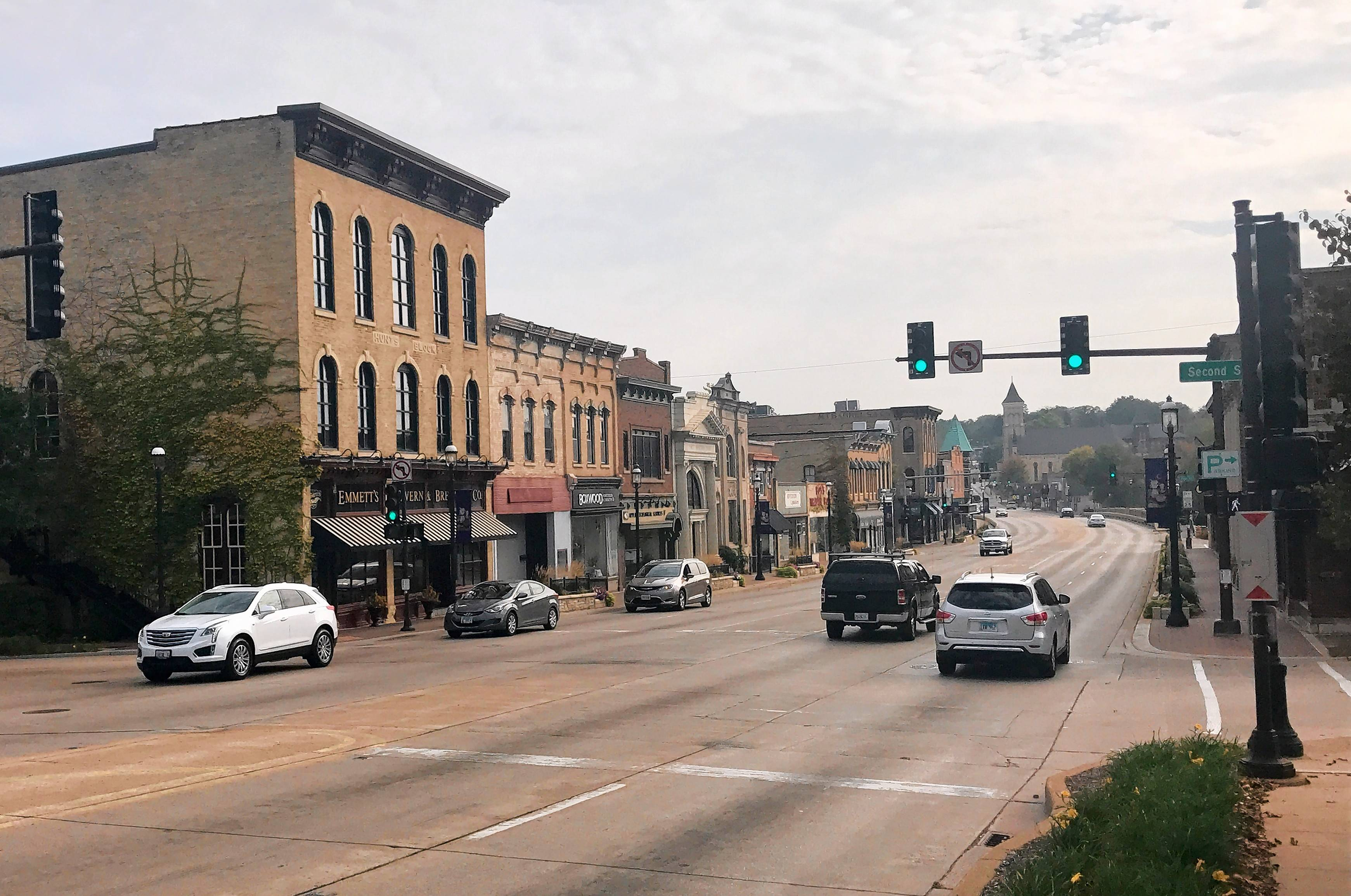 West Dundee has agreed to exclude new residential developments from the provisions of a proposed new tax increment financing district, which includes downtown Main Street.