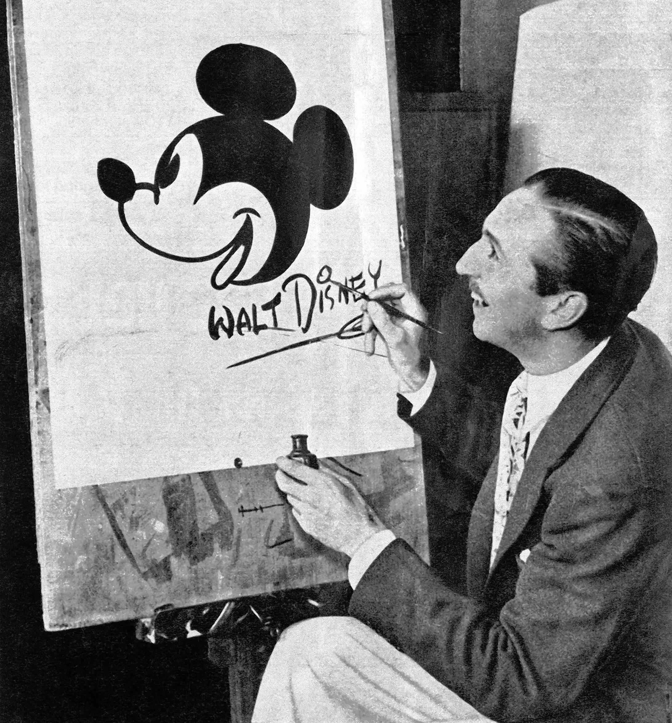 Walt Disney was a good friend of Lester J. Norris, the man who built the Arcada Theatre.