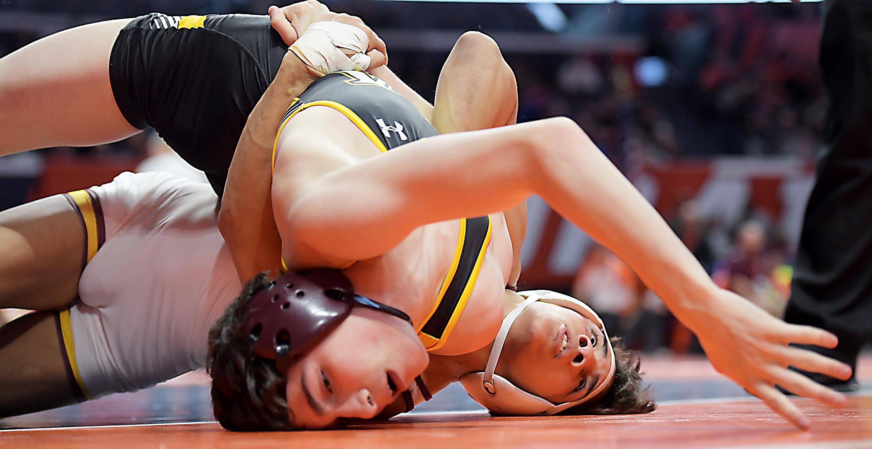 Seven Montini wrestlers advance to state title matches