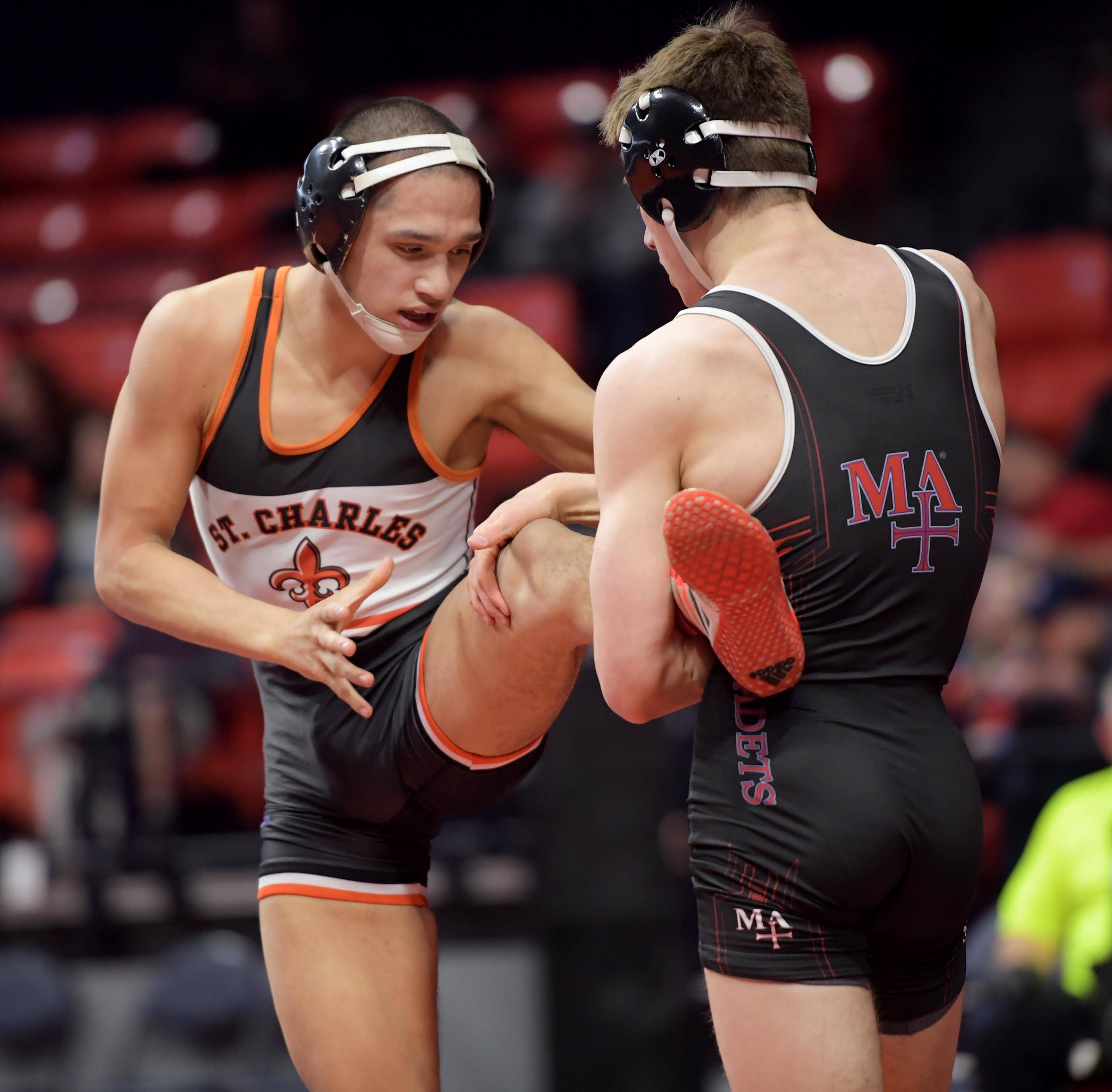 Burlington Central's Macias, Termini fly into state title bouts