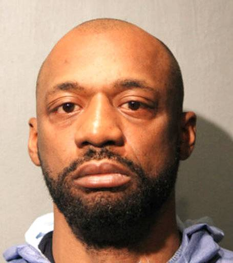 This undated photo provided by the Chicago Police Department shows Shomari Legghette. Legghette has been charged with first-degree murder in the fatal shooting of Chicago Police Commander Paul Bauer. Bauer was killed after a foot chase Tuesday, Feb. 13, 2018, in downtown Chicago. He was shot in the head by a suspect carrying a semi-automatic handgun equipped with an extended clip of ammunition, a police official told The Associated Press. Bauer had been on the police force for 31 years. (Chicago Police Department via AP)