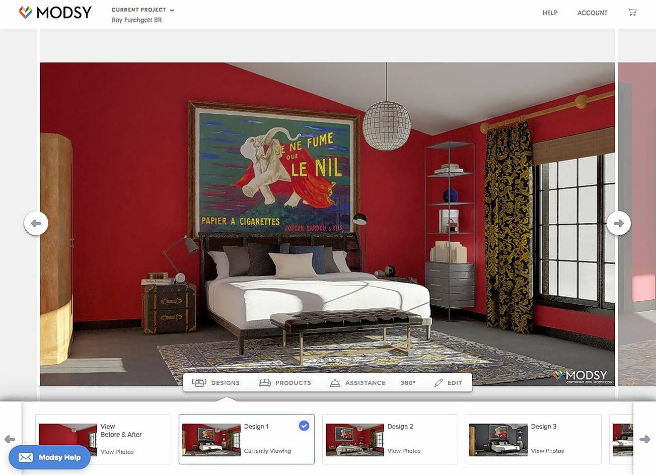 Modsy Is Among The Online Home Design Services That Author Roy Furchgott  Tried.