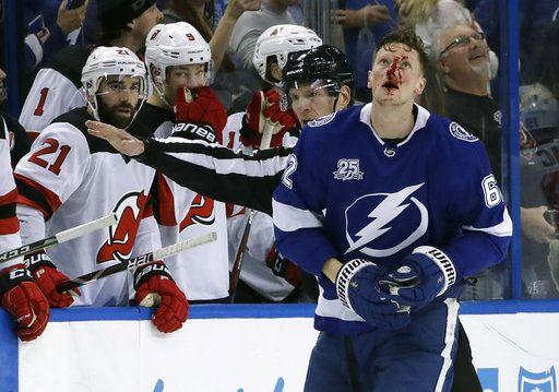 separation shoes 12188 2d217 NHL suspends Devils' Wood 2 games for hit on Namestnikov