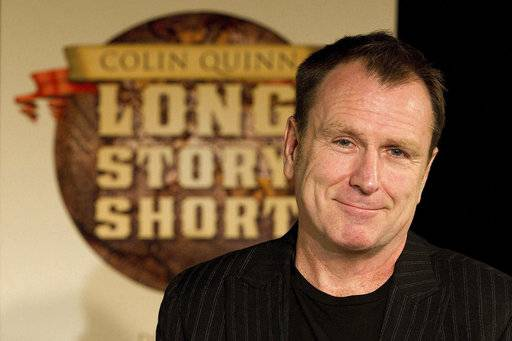 Saturday Night Live alum Colin Quinn is exercising his wit days after a heart attack interrupted his busy touring schedule.