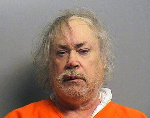 FILE - This Aug. 12, 2016, file photo provided by the Tulsa County Sheriff's Office shows Stanley Vernon Majors, of Tulsa, Okla. A judge on Tuesday, Feb. 20, 2018, sentenced Majors to life in prison without the possibility of parole for fatally shooting his Lebanese neighbor in August 2016 in what the jury determined was a hate crime. (Tulsa County Sheriff's Office via AP, File)