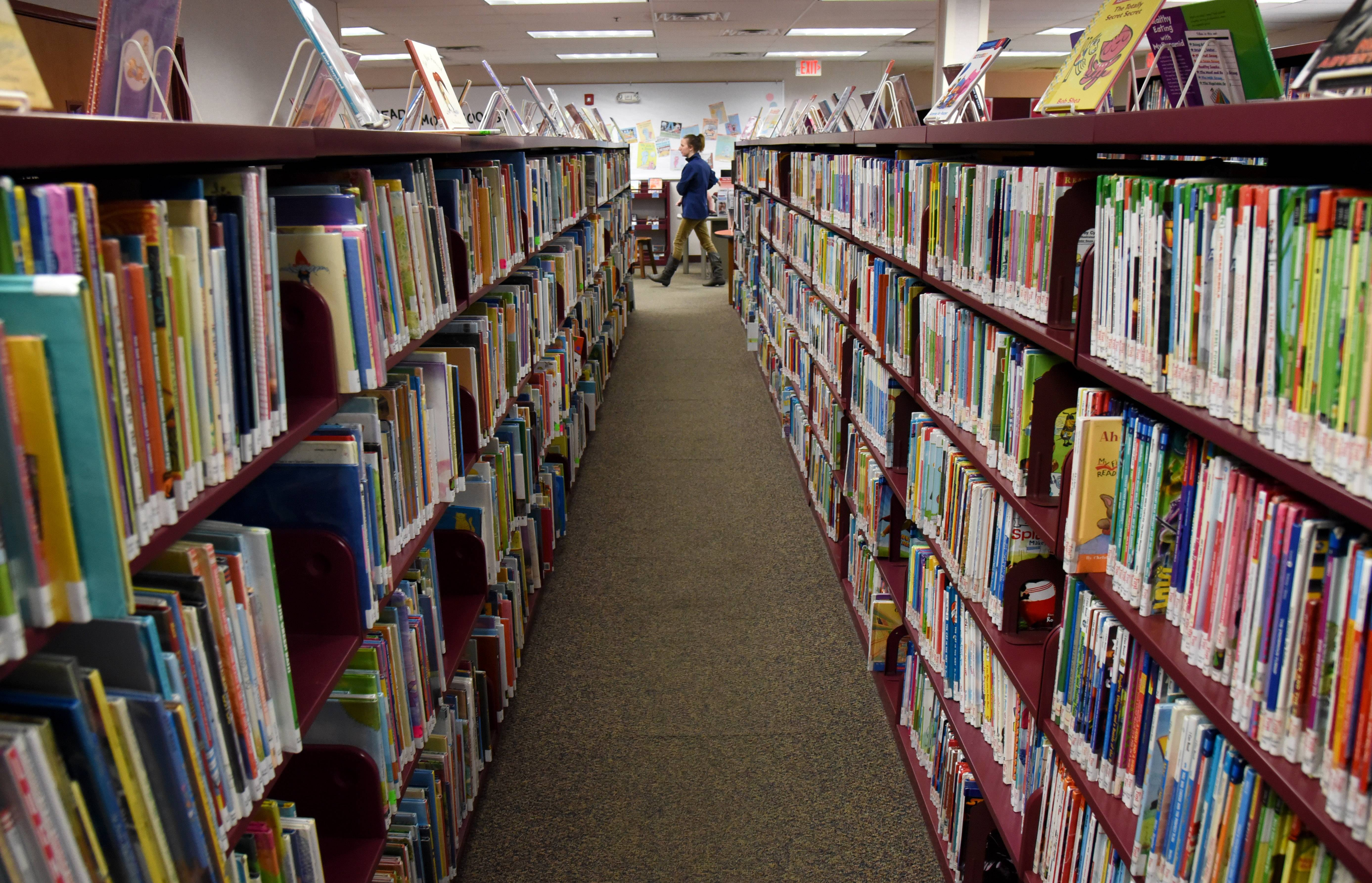 Huntley Area Public Library District officials are considering a future expansion due to a space crunch. The library, which opened in 1999, has a crowded children's area, which can accommodate only 12 people at a time in a trailer.