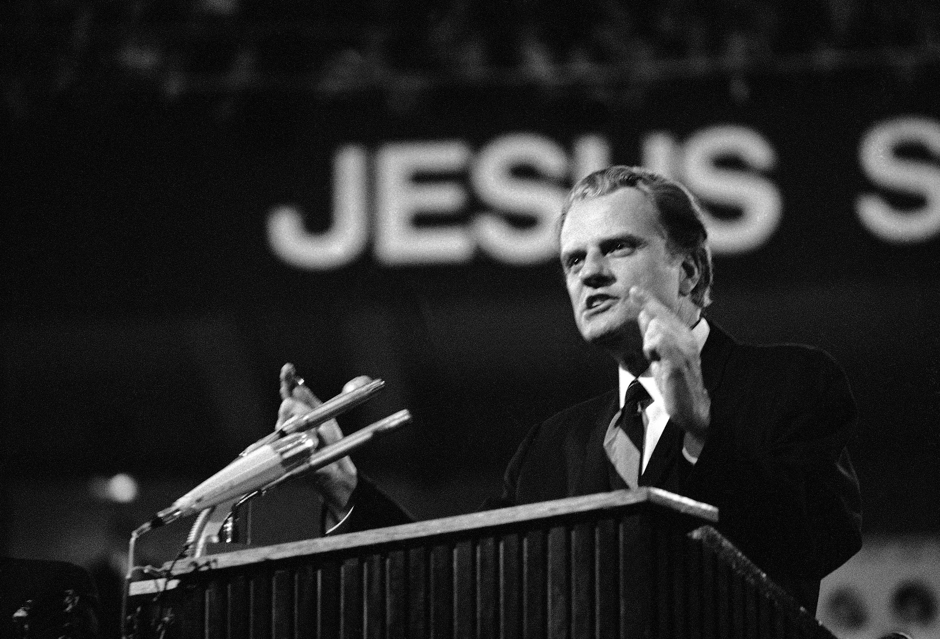 Images: Rev. Billy Graham, 1918 - 2018