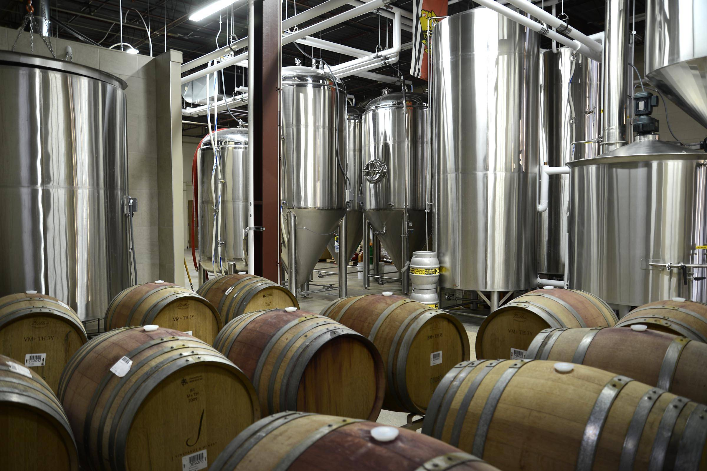 John Starks/jstarks@dailyherald.com, file photo The brewing room at Scorched Earth Brewing Co. in Algonquin is expanding.