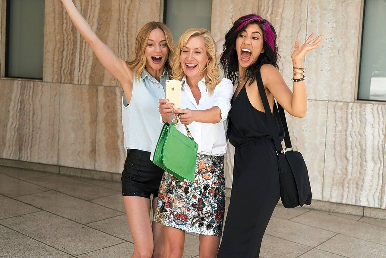 "Honey (director/writer Heather Graham), Eva (Angela Kinsey) and Candy (Stephanie Beatriz) become best pals in ""Half Magic,"" a cautionary sex comedy about relationships."