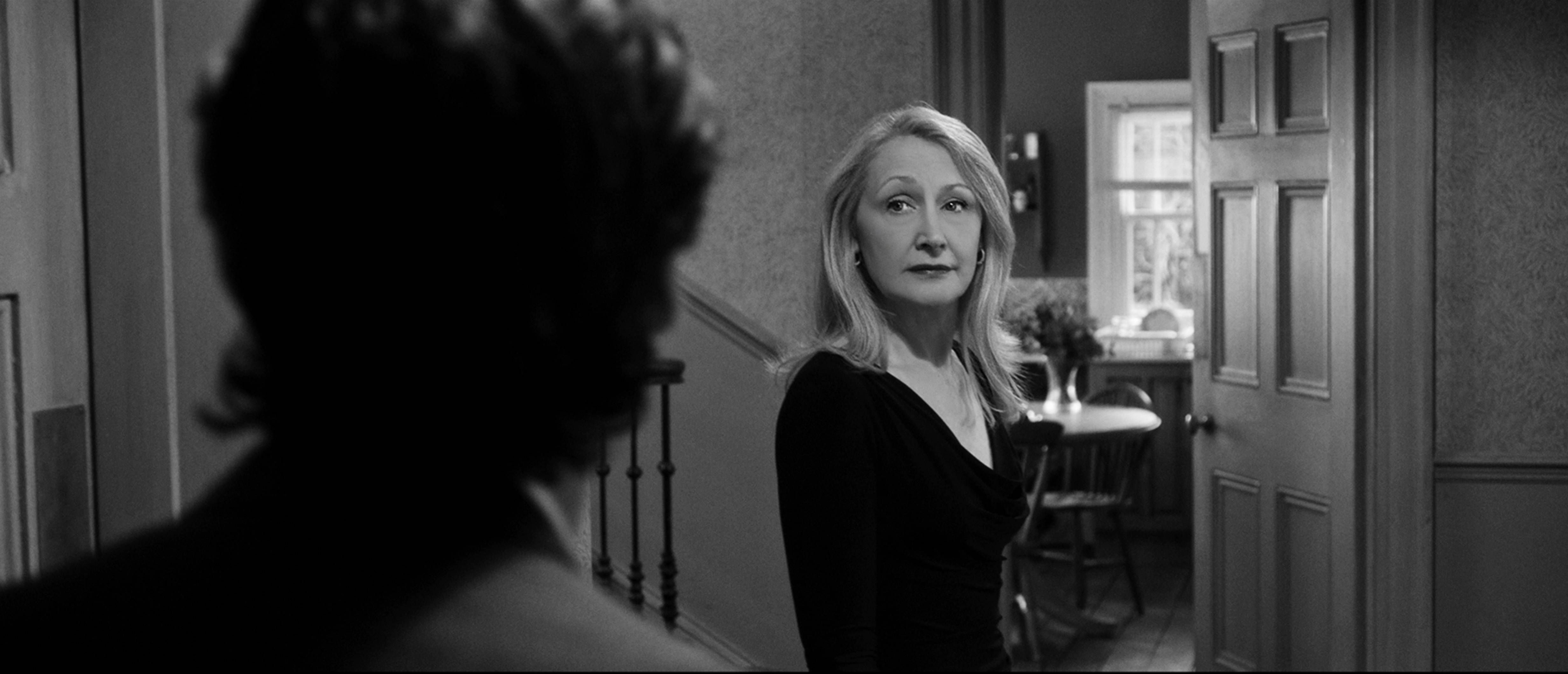 "April (Patricia Clarkson) is among the guests for ""The Party."""