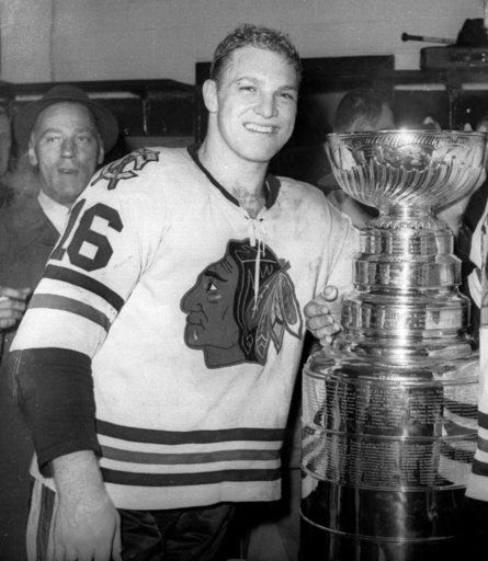 chicago blackhawks bobby hull jersey