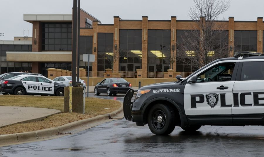 Roselle police brought extra officers to Lake Park High School's two campuses on Friday morning while they investigated a social media threat that was found not to be credible. Police remained on site as students were dismissed about 10:30 a.m. after classes were canceled for the day.