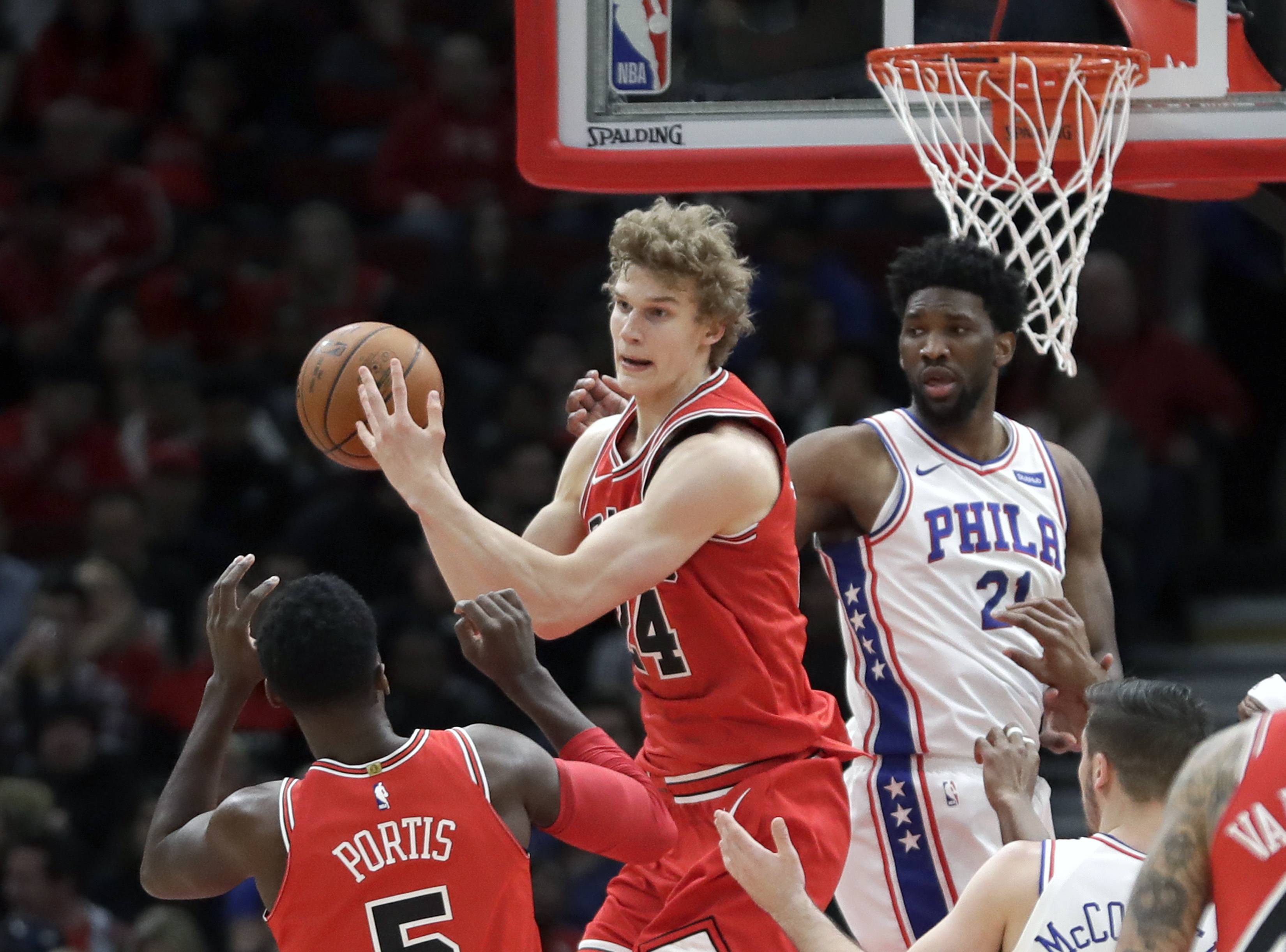 Bulls' rookie Markkanen stuck in 3-point shooting slump