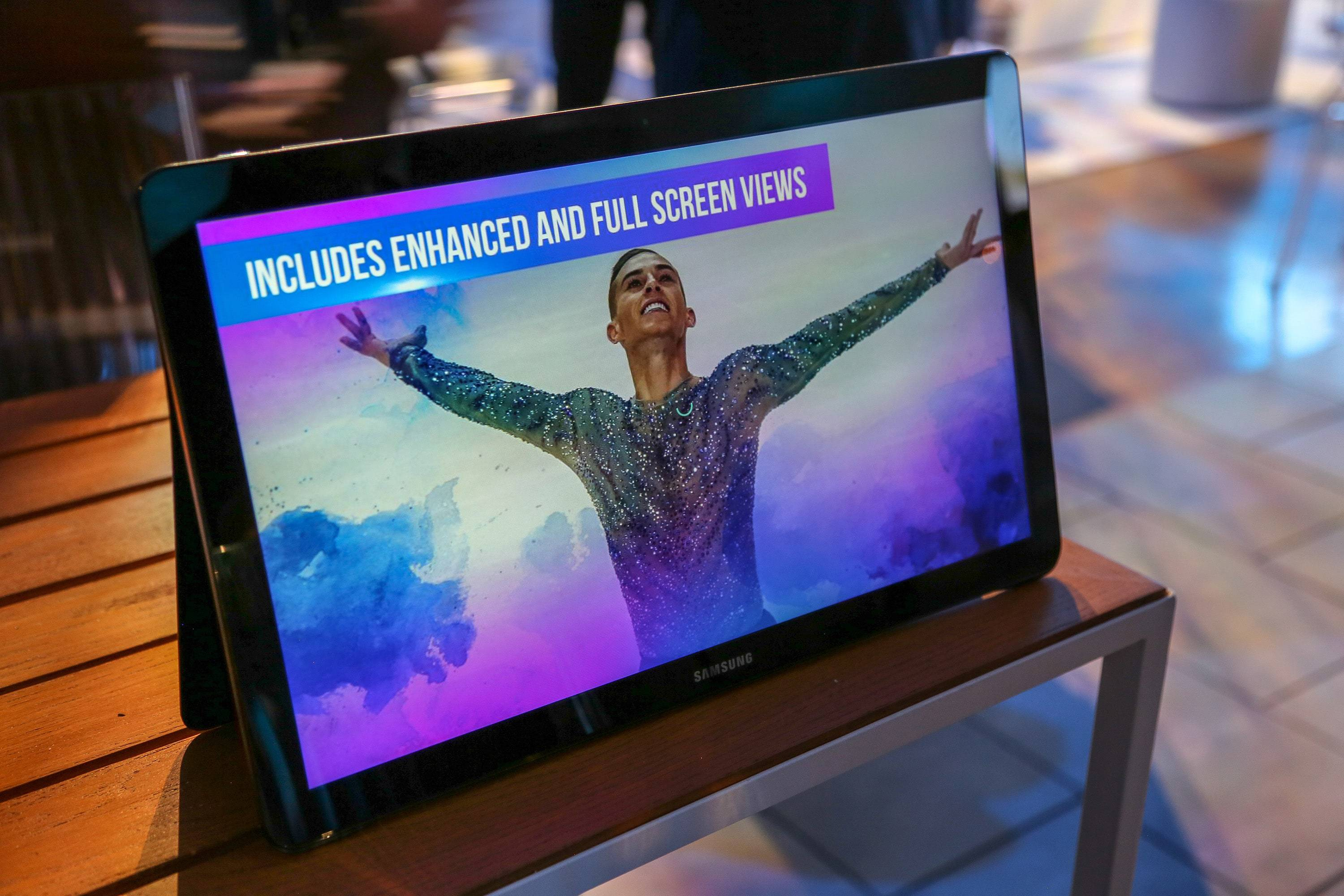NBC lets Americans stream Olympics coverage on TVs as well as smartphones and, shown here, tablets — as long as you have a password from a pay TV provider.