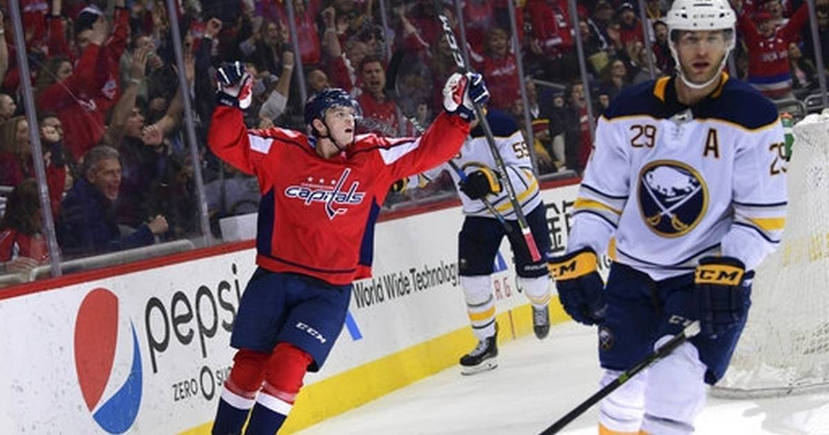 9eadb2a2c58 Ovechkin scores 2 as Capitals beat Sabres 5-1