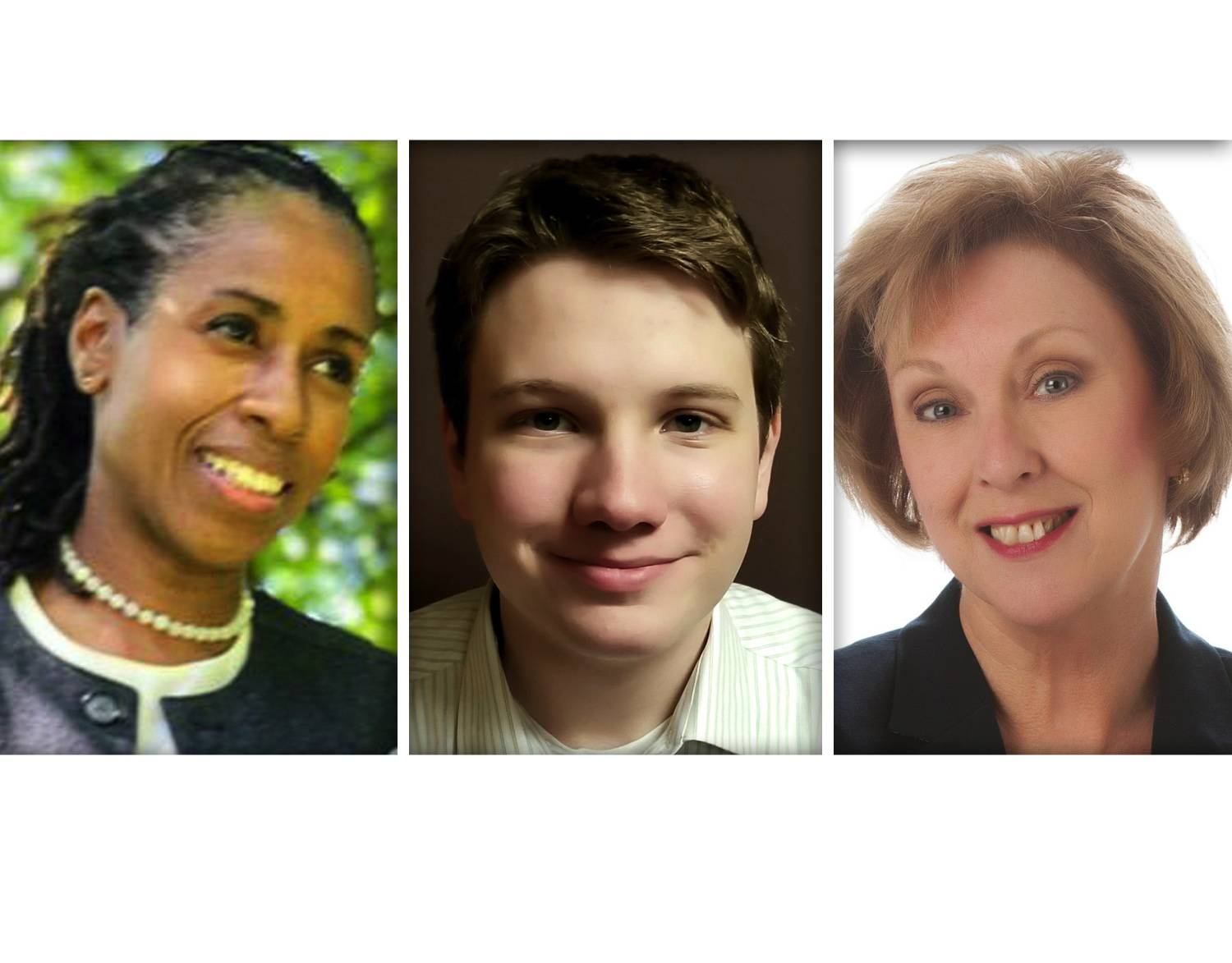 From left, Erica Green, John Maguire and Sheila Rutledge are Democrat candidates for DuPage County Board Dist. 6