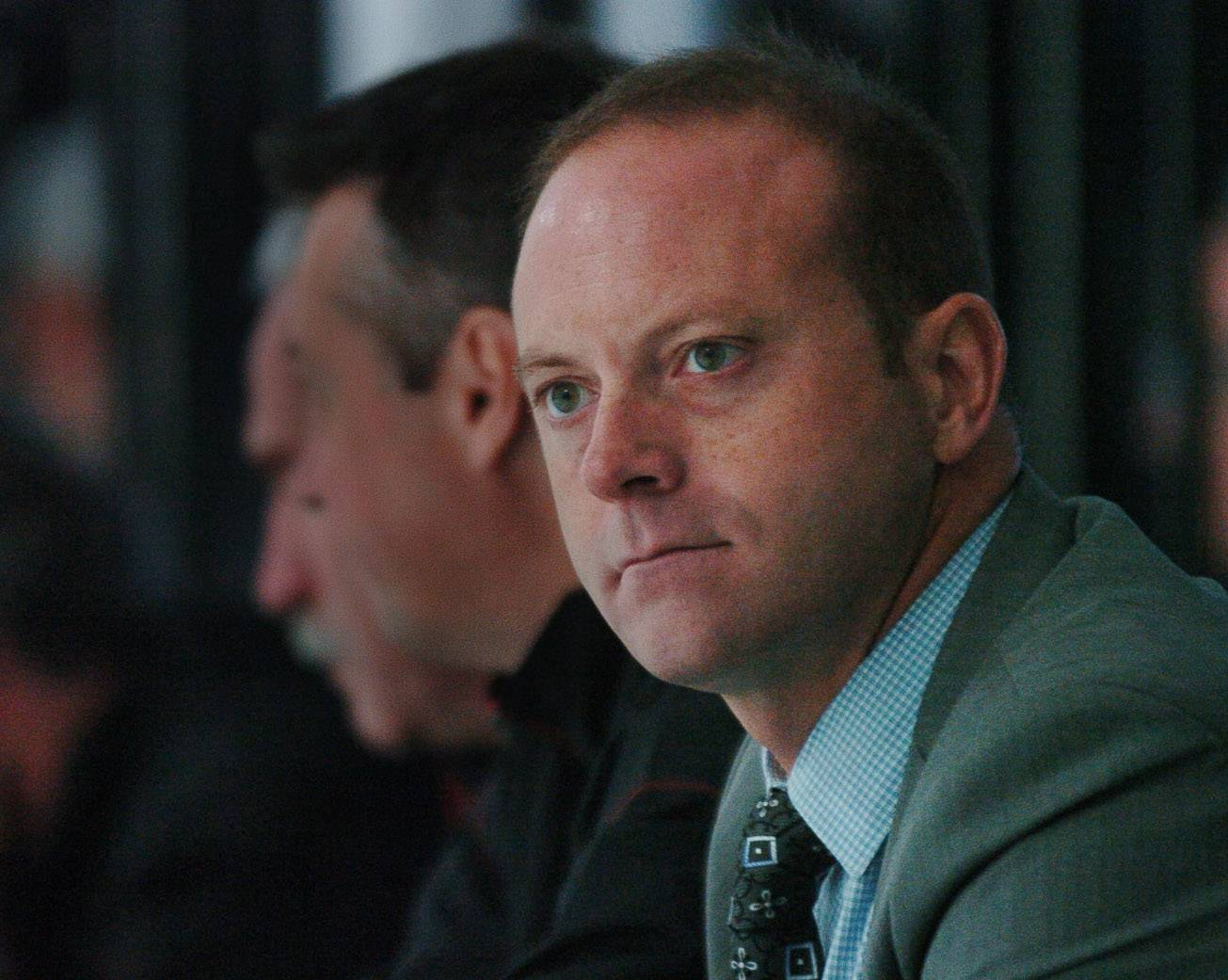 "Daily Herald file photo Chicago Blackhawks general manager Stan Bowman said NHL teams ""can change and turn things around fairly quickly."""