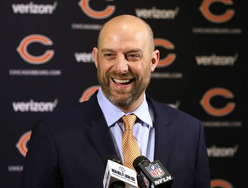 Childress joins Chicago Bears to complete Nagy's staff