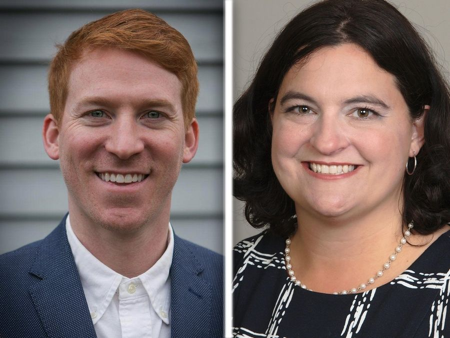 Eddie Corrigan and Katie Miller are Republican candidates in the 53rd state House District.