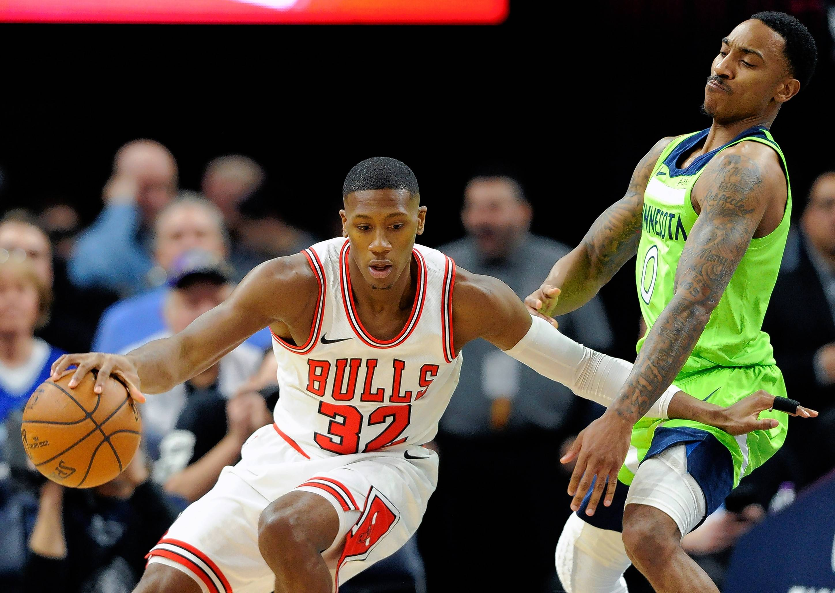 "With two new starters in the lineup, Chicago Bulls point guard Kris Dunn says the team's recent losing streak is a result of not having the right ""chemistry"" on the floor."