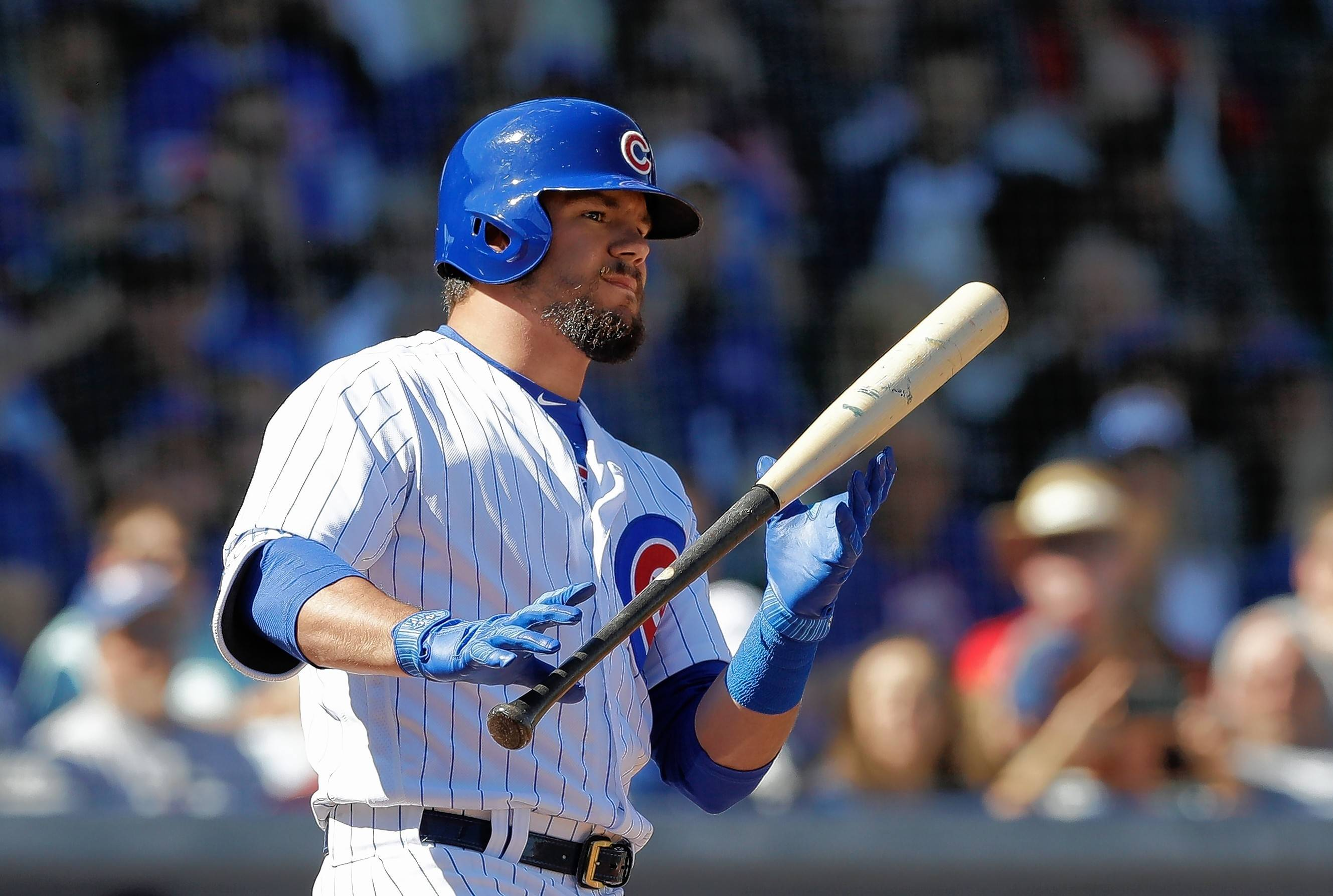 Leaner Schwarber weighs in on his focus to produce for Cubs
