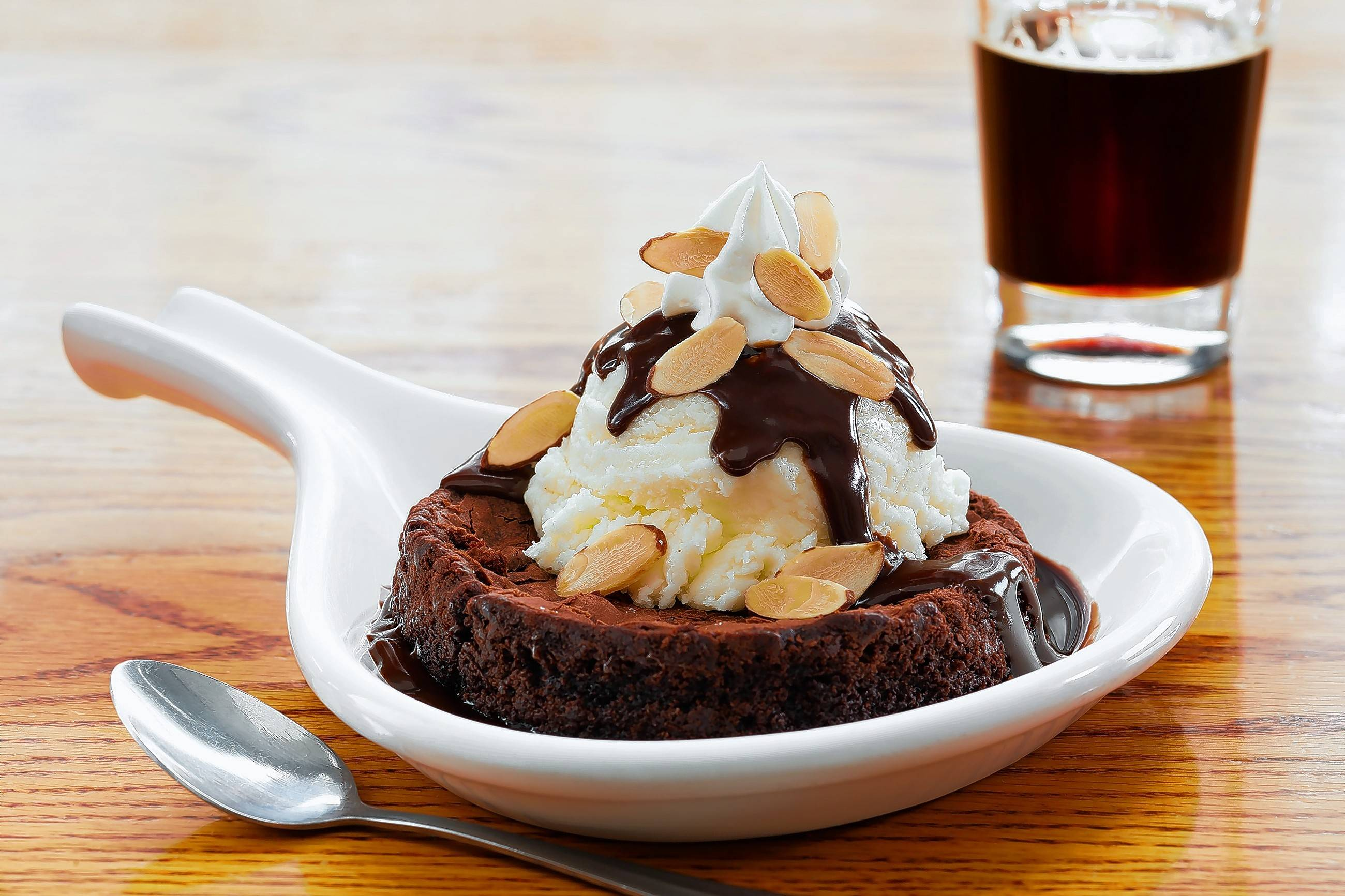 RAM's brownie skillet sundae, which will be available on the restaurant's Rosemont Restaurant Week menu, sure looks tempting.