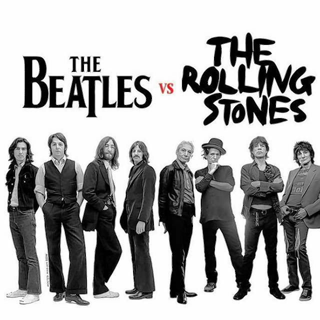 "Ron Onesti recently hosted ""Beatles vs. the Rolling Stones: Sound Opinions on the Great Rock 'N' Roll Rivalry,"" a presentation given by two local rock critics."