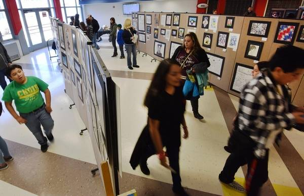 West Aurora Schools Hold 10th Fine Arts Festival