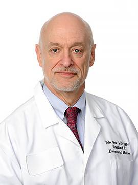 Dr. Peter Oris, professor and chief of occupational and environmental medicine for the University of Illinois Hospital and Health Sciences System and a founding member of Physicians for a National Health Program.