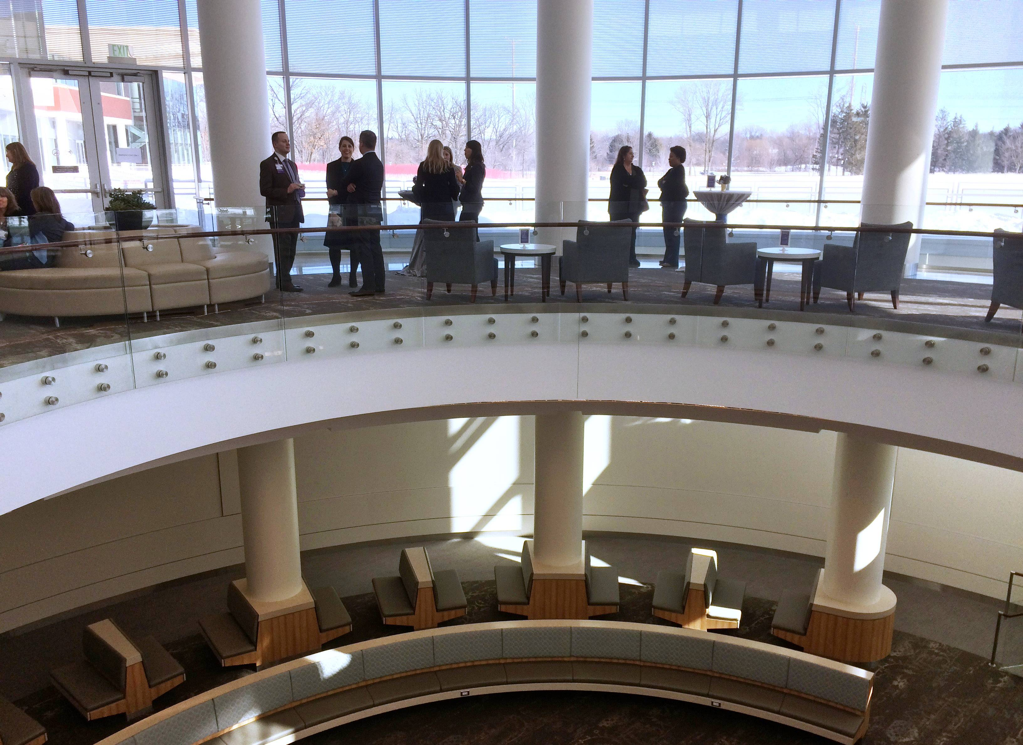 Northwestern Medicine Lake Forest Hospital officials held a ribbon-cutting ceremony a few weeks ago.