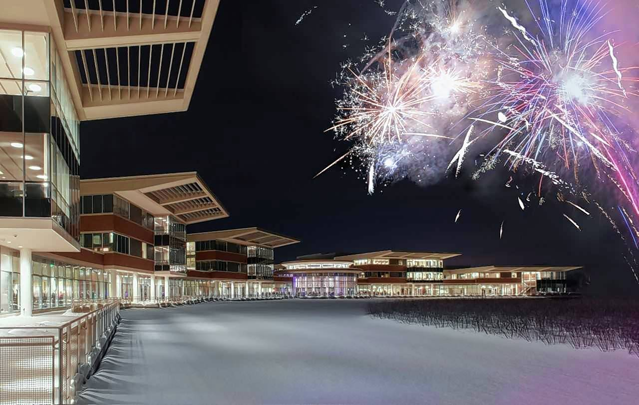 Northwestern Medicine Lake Forest Hospital is now open. A fireworks display and ribbon cutting recently took place.