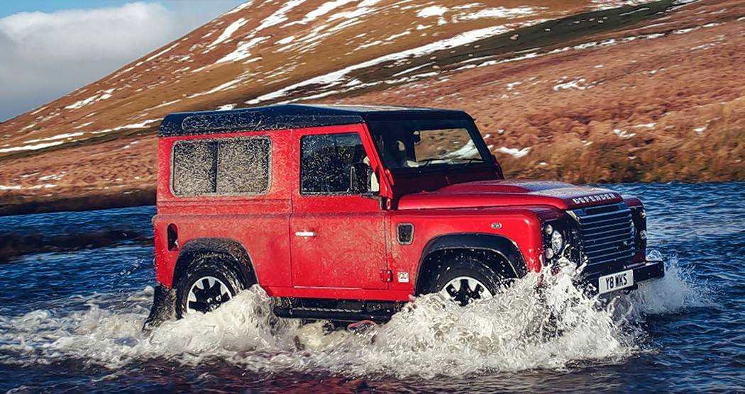 The Defender's V-8 will produce 405 horsepower and accelerate the vehicle from zero to 60 mph in 5.6 seconds.