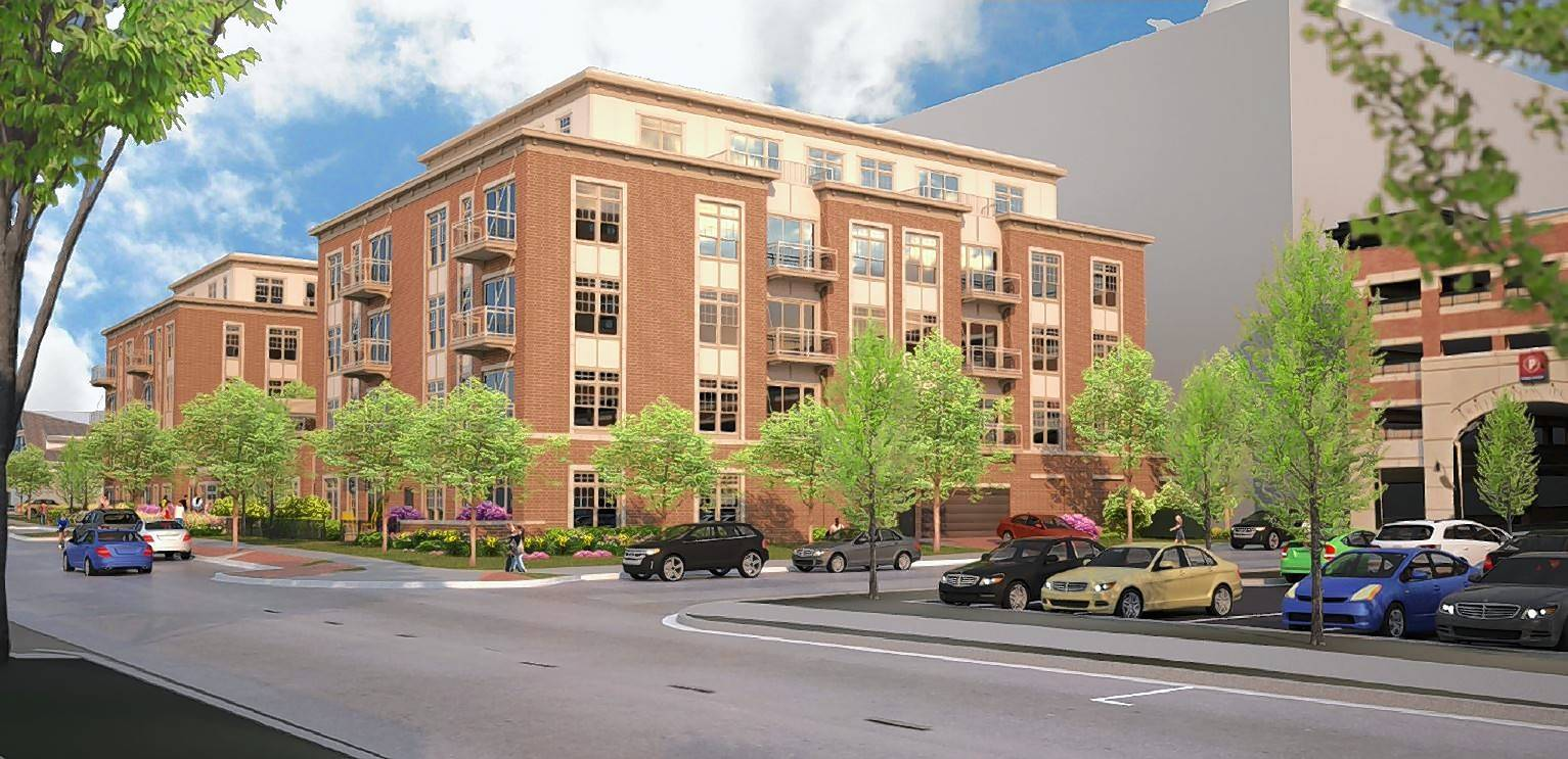 A vote on plans for a 5-story, 80-unit apartment building on Sigwalt Street between Highland and Chestnut avenues was delayed Monday by the Arlington Heights village board.