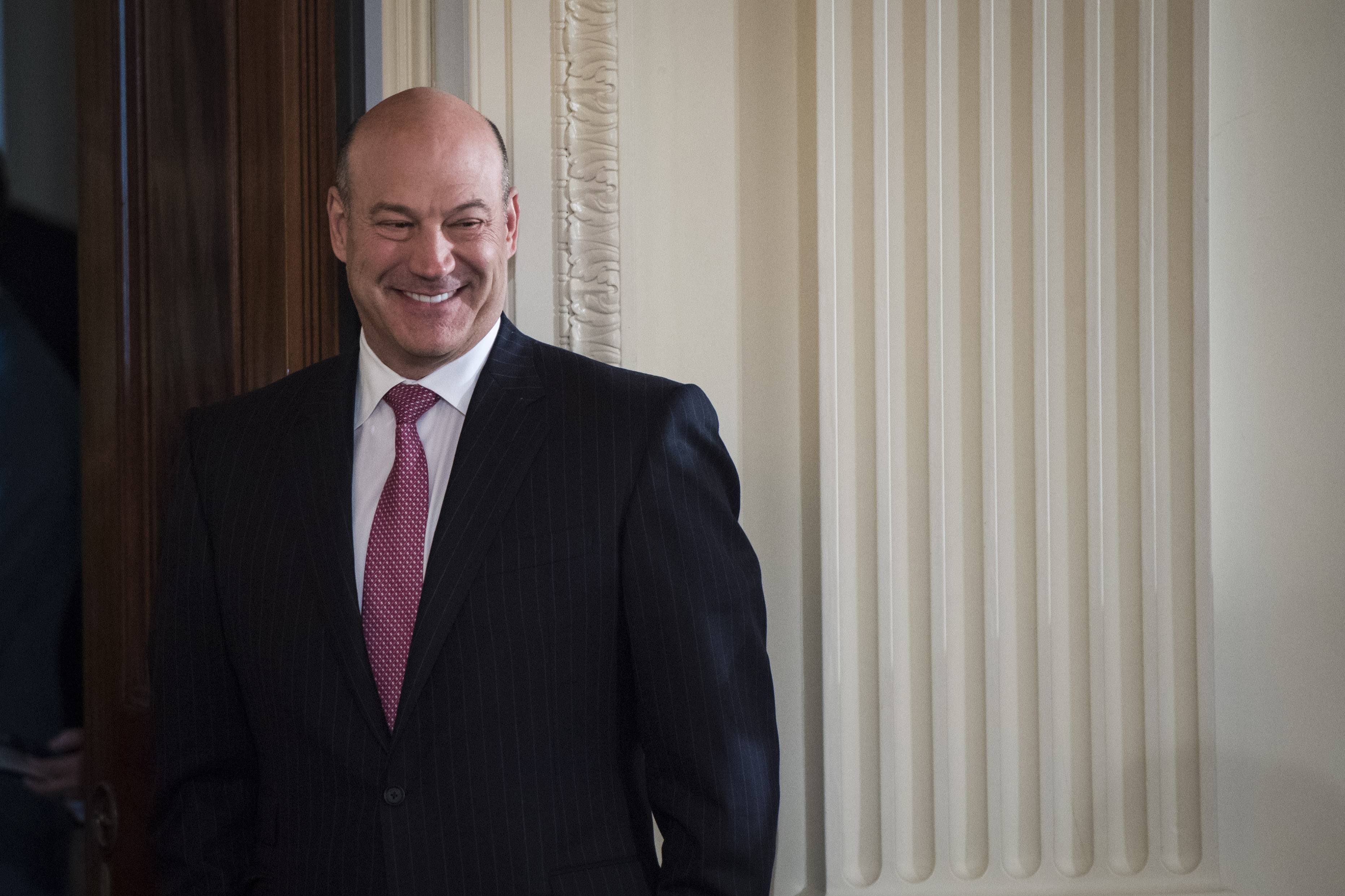 Economic adviser Gary Cohn, seen above in April 2017, was considered one of the more stable parts of the White House administration. He announced his resignation Tuesday. Must credit: Washington Post photo by Jabin Botsford
