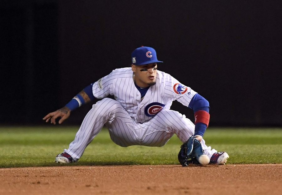 separation shoes 64da1 0bdb9 Will Javy Baez finally rule at second base for Chicago Cubs?