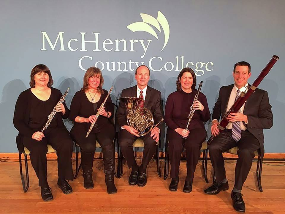 The woodwind quintet Winds Off the Lake will perform at the popular Second Sunday Concert on March 11.