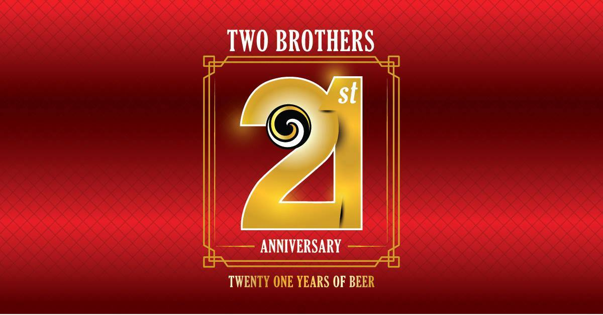 Two Brothers Artisan Brewing 21st anniversary party