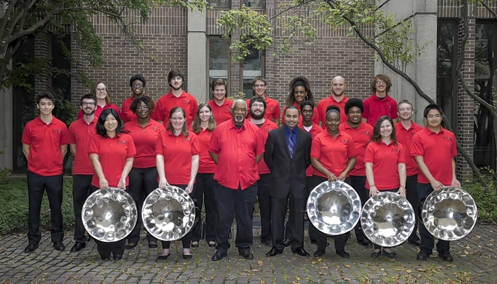 Enjoy an evening of steel pan music with the Northern Illinois University Steelband on Friday, March 23, at the Norris Cultural Arts Center in St. Charles.