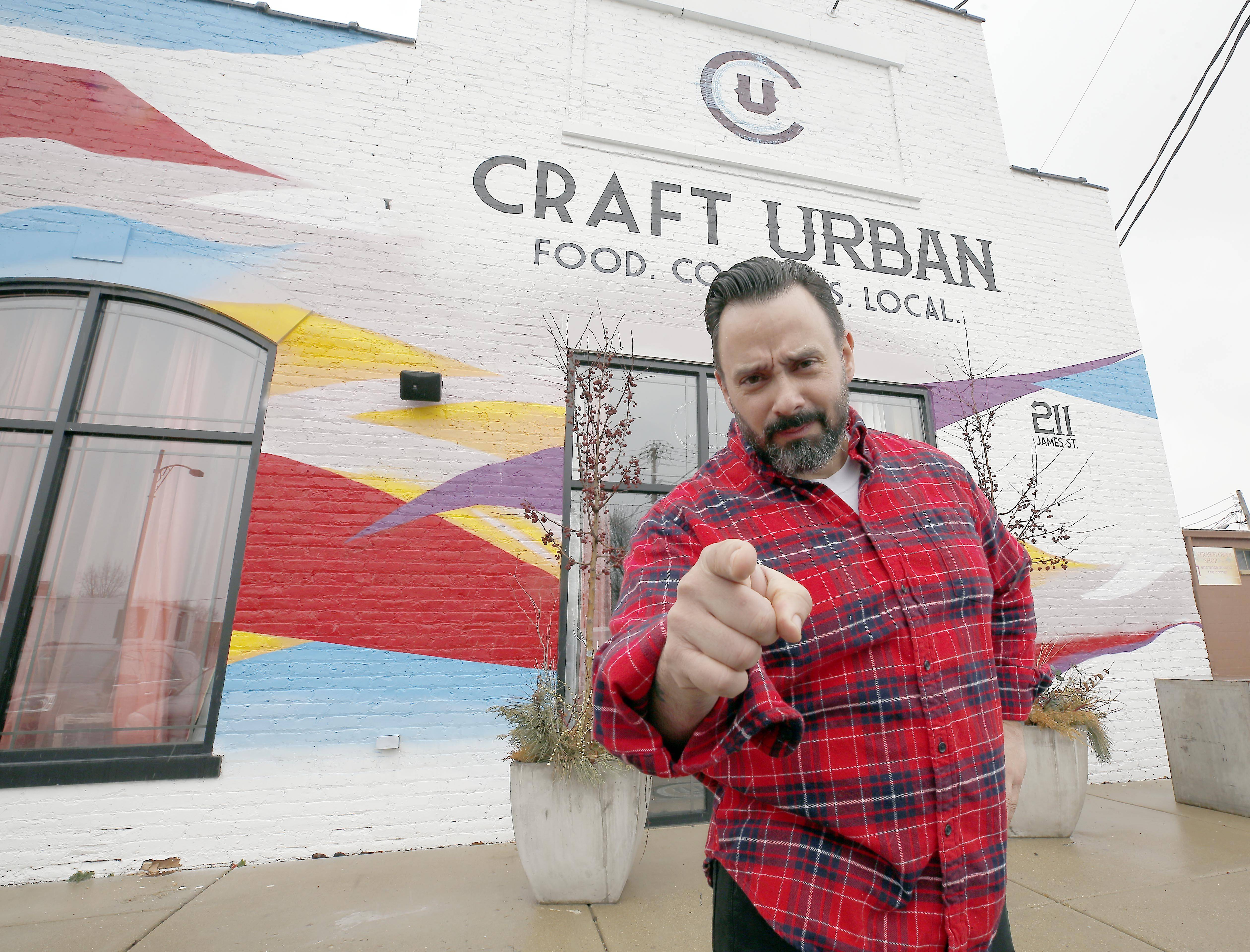 Owner and chef Bernie Laskowski brings 25 years of restaurant experience to Craft Urban in Geneva.