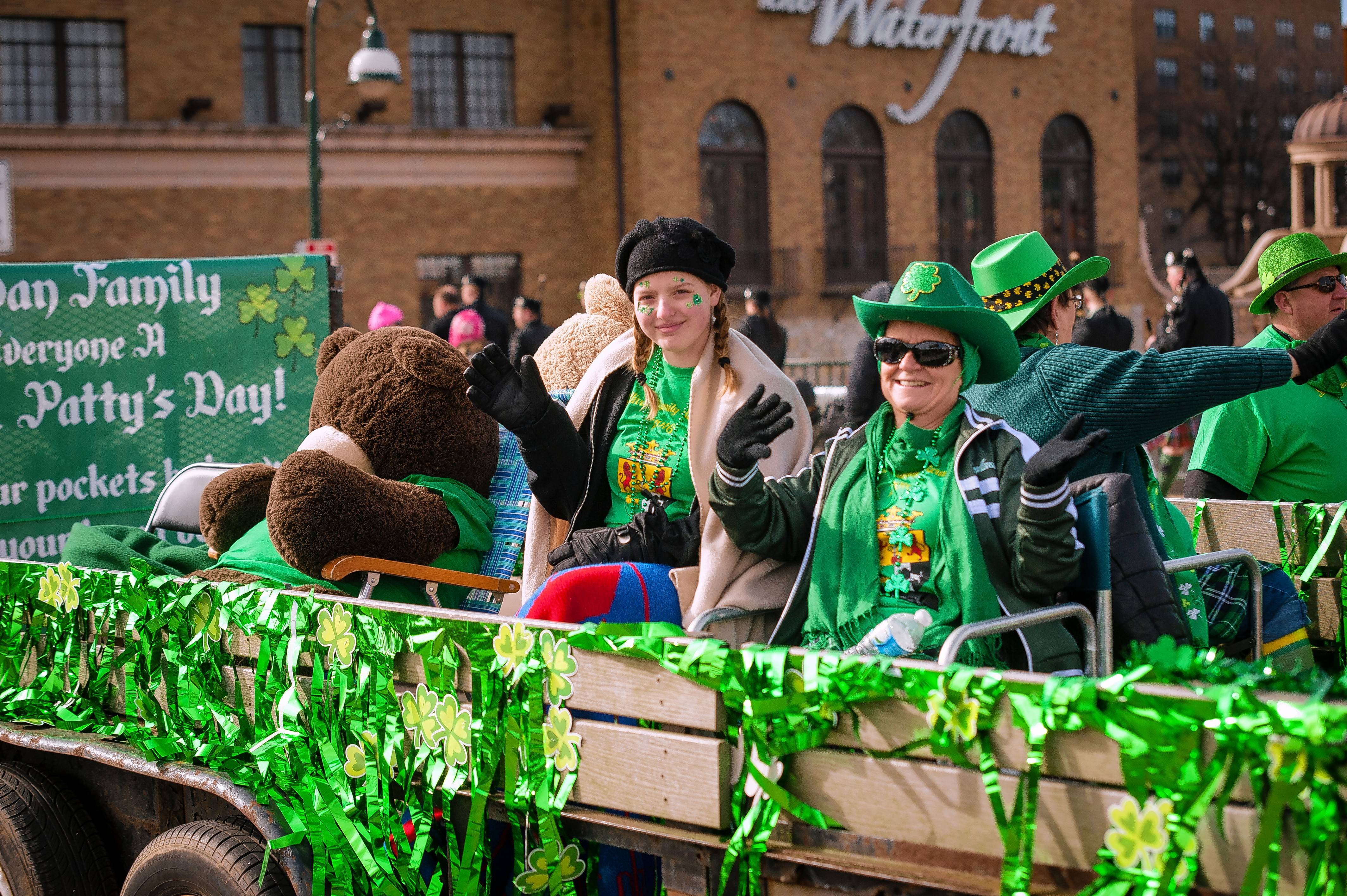 The St. Charles St. Patrick's Parade is on Saturday, March 10.