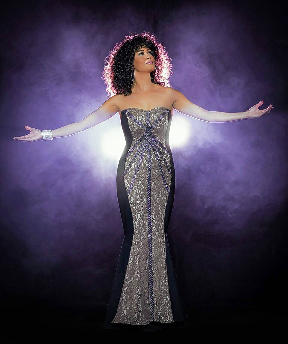"Belinda Davids stars in ""The Greatest Love of All: The Whitney Houston Show,"" coming to the Rosemont Theatre Saturday, Aug. 11."