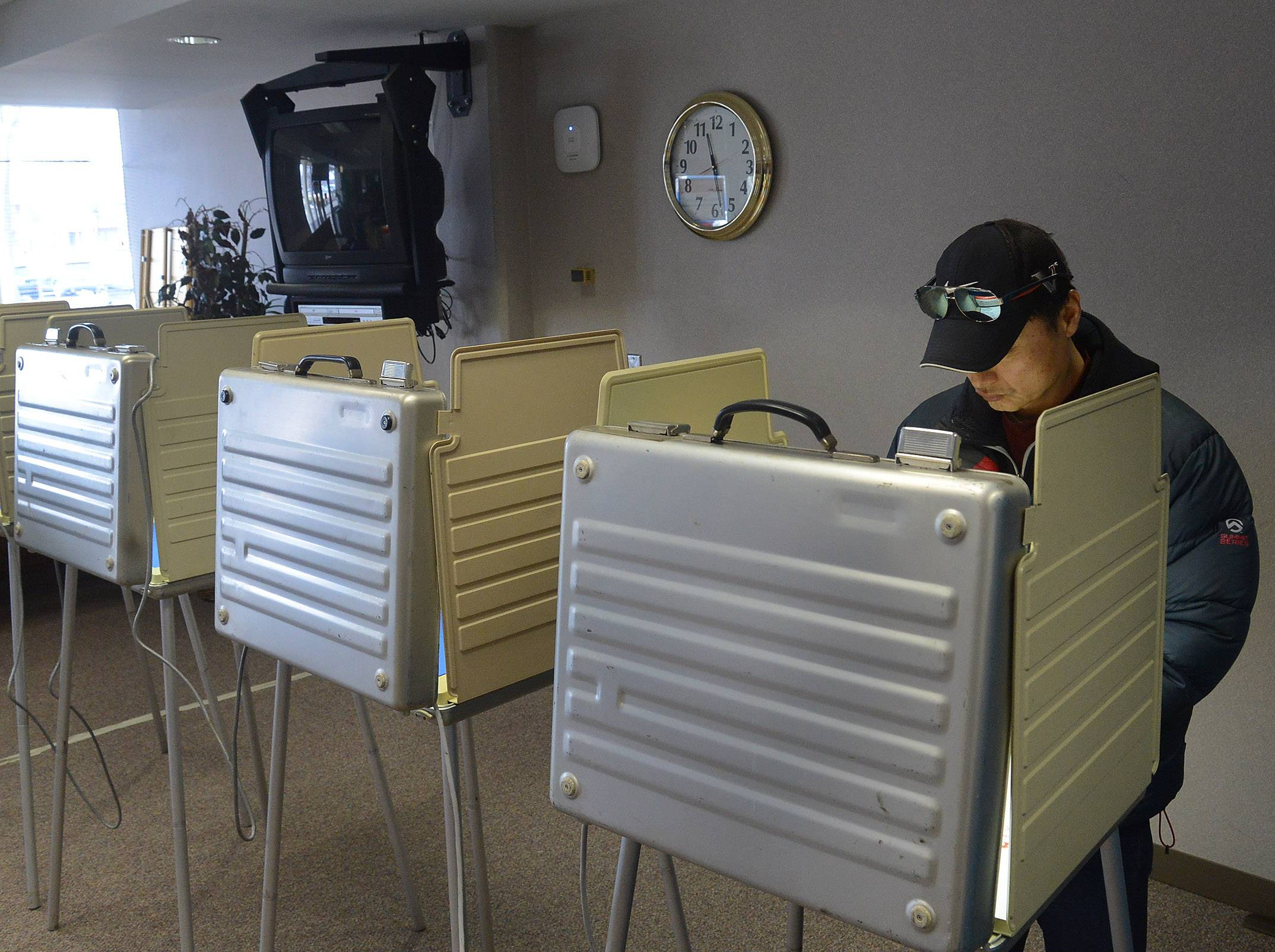 Voters in some Northwest suburban Cook County precincts will cast their ballots in different polling places for the primary election on Tuesday, March 20.