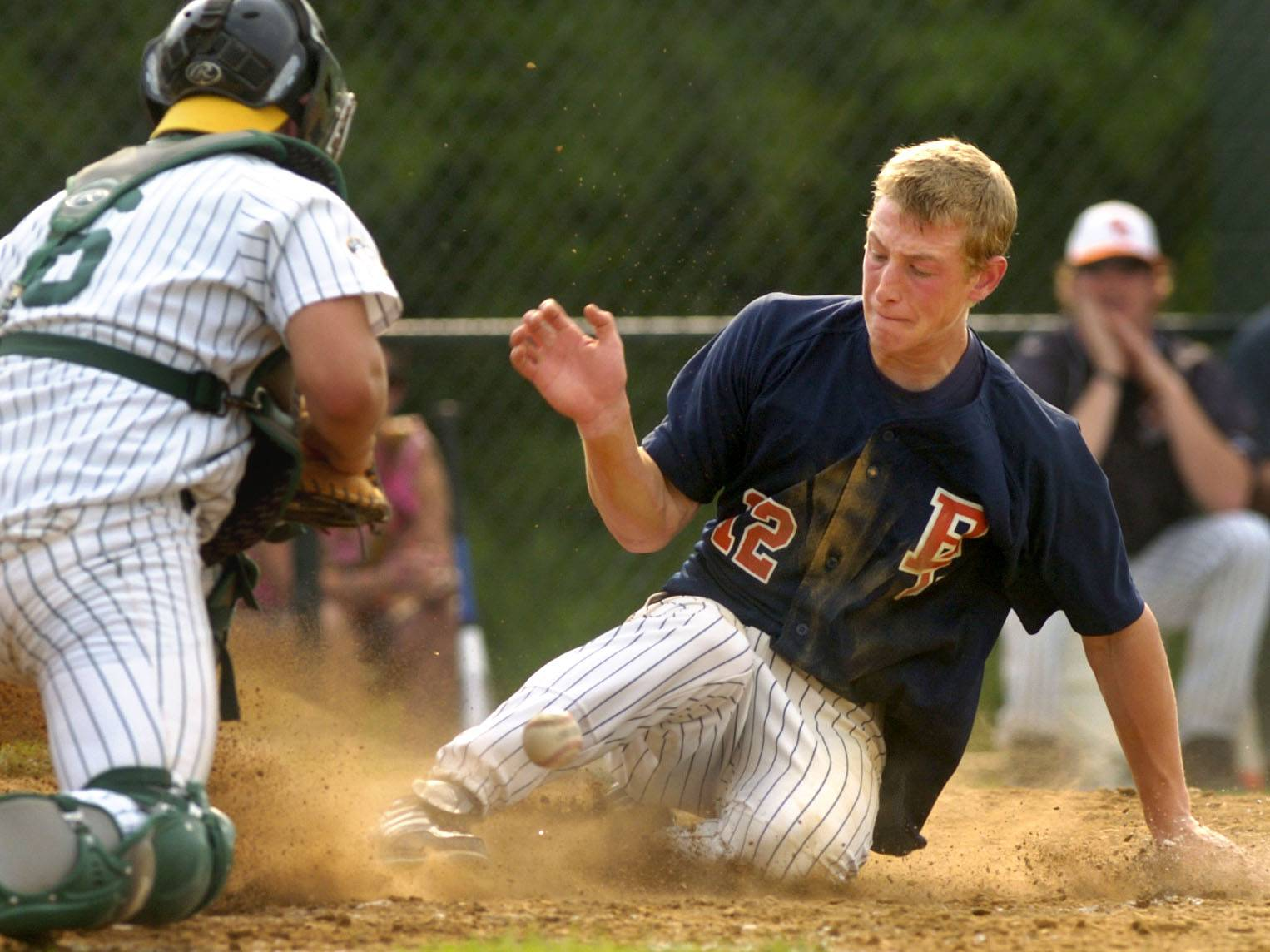Zach Borenstein of Buffalo Grove, here scoring against Elk Grove during regional play in the 2007 season, is hoping a free agent opportunity with the Mets was a good business decision.
