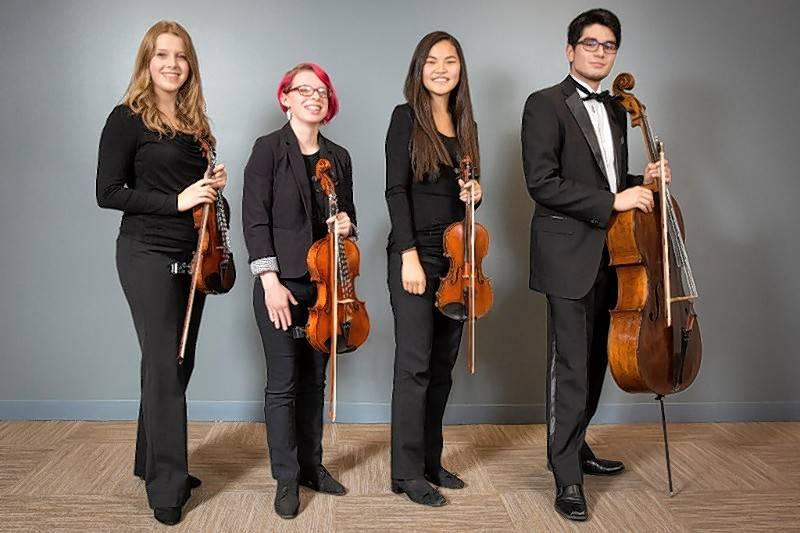 On Sunday, March 11, Elgin Youth Symphony Orchestra's Maud Powell String Quartet will perform the finale of Tchaikovsky's String Quartet No. 1.