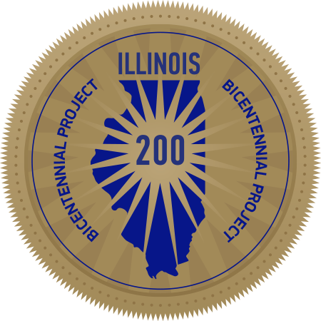 Illinois Bicentennial Commission Official Project Seal