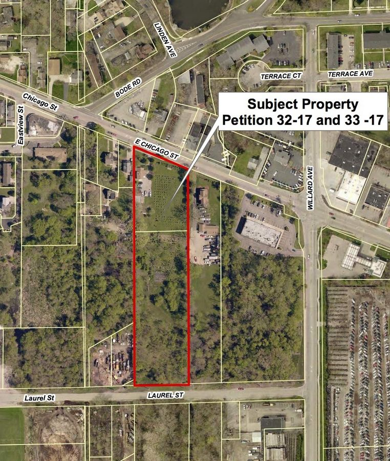 Hanover Landing, a residential project for people with disabilities, will include parcels at 711 E. Chicago St. and 712 Laurel St. in Elgin.
