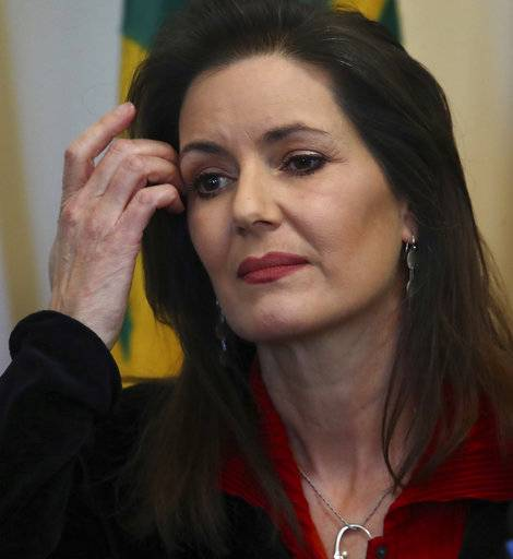 Oakland Mayor Libby Schaaf listens to a question from a reporter during a media conference on Wednesday, March 7, 2018, in Oakland, Calif.
