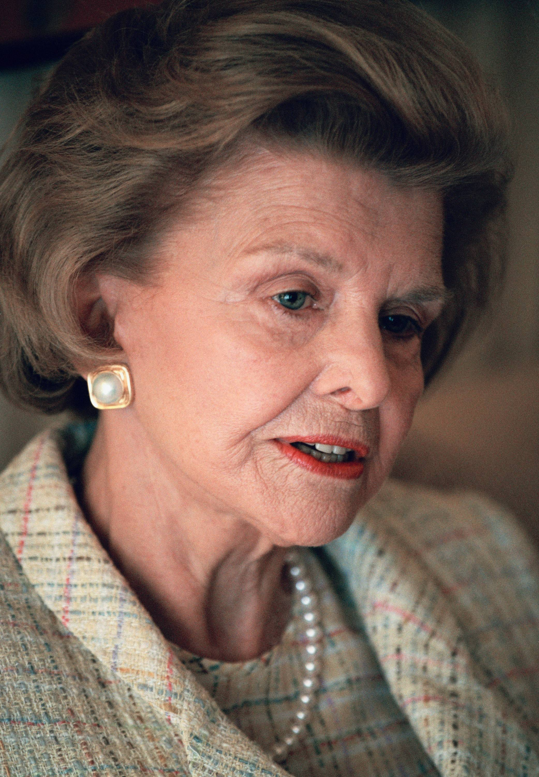 Former first lady Betty Ford in 1994.