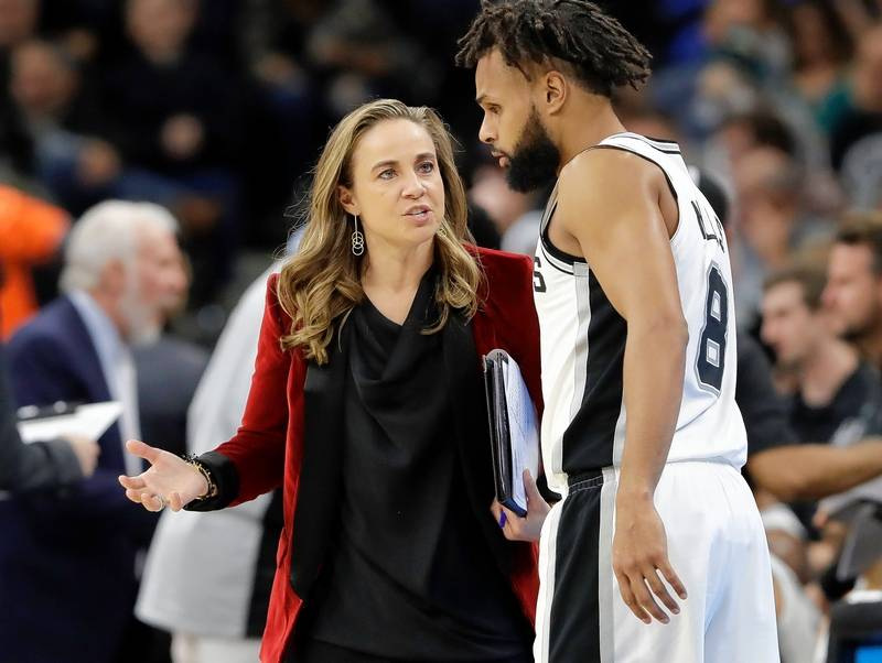 Could NBA's Becky Hammon Become First Female Head Coach Of ...